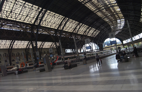 SPAIN (Barcelona) Francia railways station.